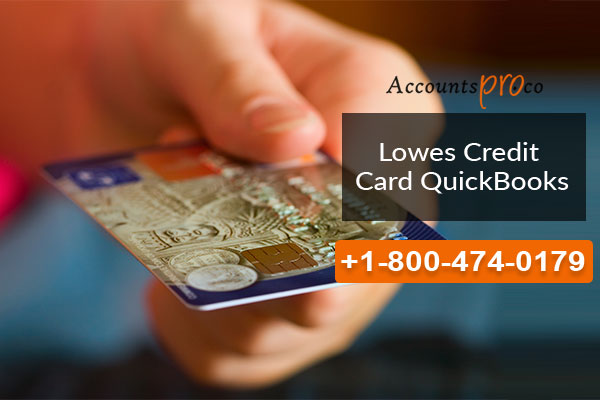 Lowes credit card quickbooks add link common error fix how to add lowes credit card to quickbooks account reheart Images