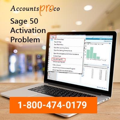 Activation Problem Sage 50