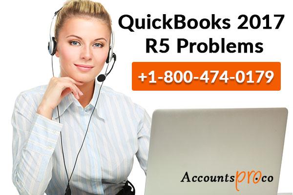 QuickBooks 2017 R5 Issues