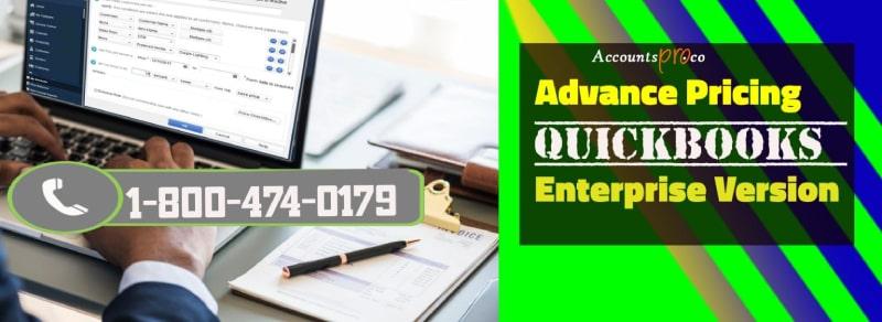 Advance Pricing QuickBooks