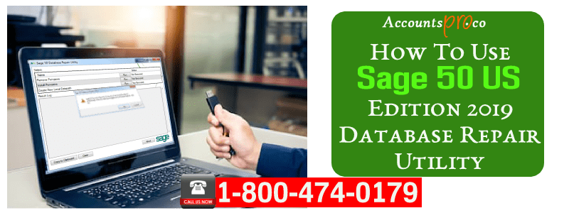 Sage 50 US Edition 2021 Database Repair Utility