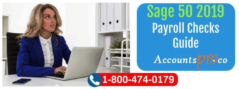 Sage 50 2019 Payroll Checks