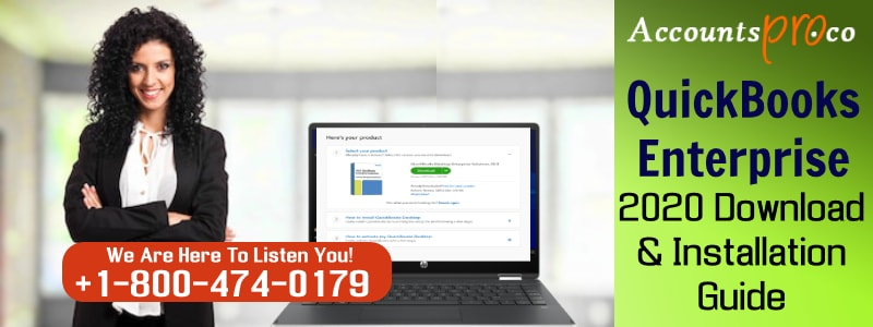QuickBooks Enterprise 2020 Download Install