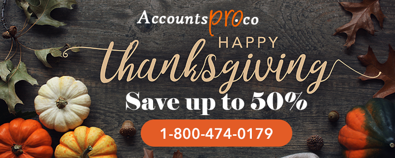 QuickBooks ThanksGiving Day Offers & Deal