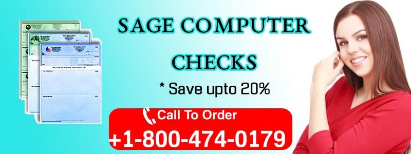Sage Computer Checks