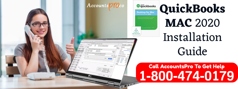 QuickBooks MAC 2020 Installation