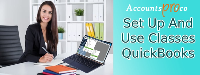Set Up And Use Classes QuickBooks