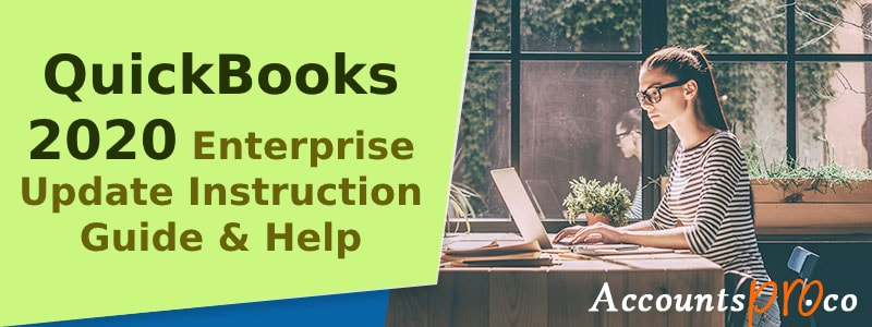 QuickBooks 2020 Enterprise Update