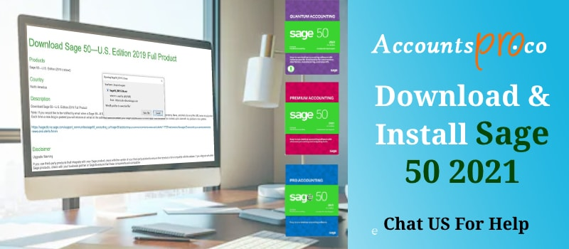 Download Install Sage 50 2021