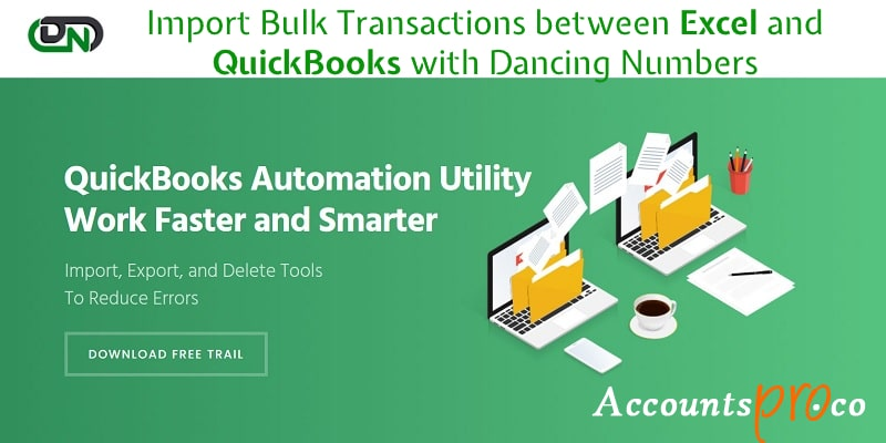 DancingNumbers QuickBooks Import Software