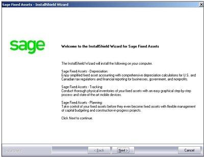 Sage FAS Update