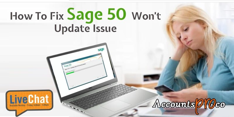 Can't Update Sage 50