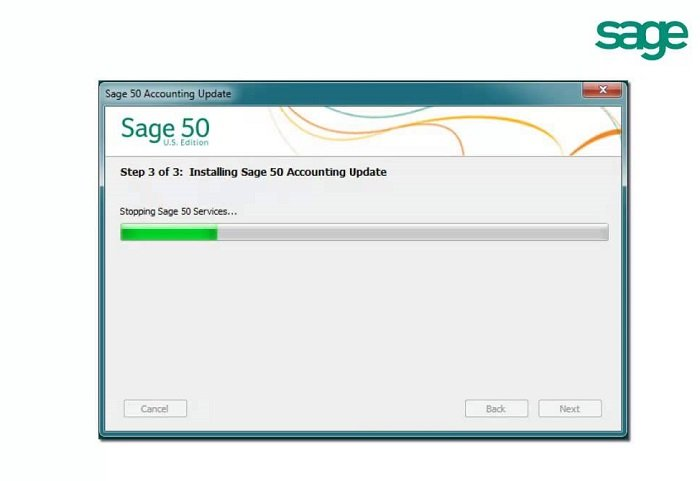 Install Sage 50 Update