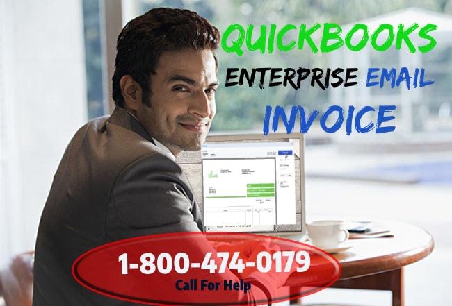 quickbooks 2014 setup email