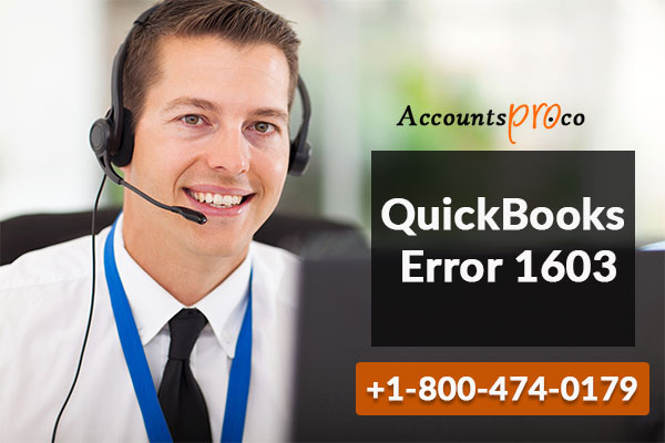 QuickBooks Error 1603 - Fix, Troubleshoot, QB Install Error:AccountsPro