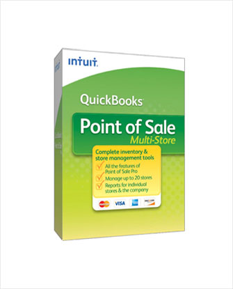 Quickbooks Point of Sale Multi-Store 7-User V12 0